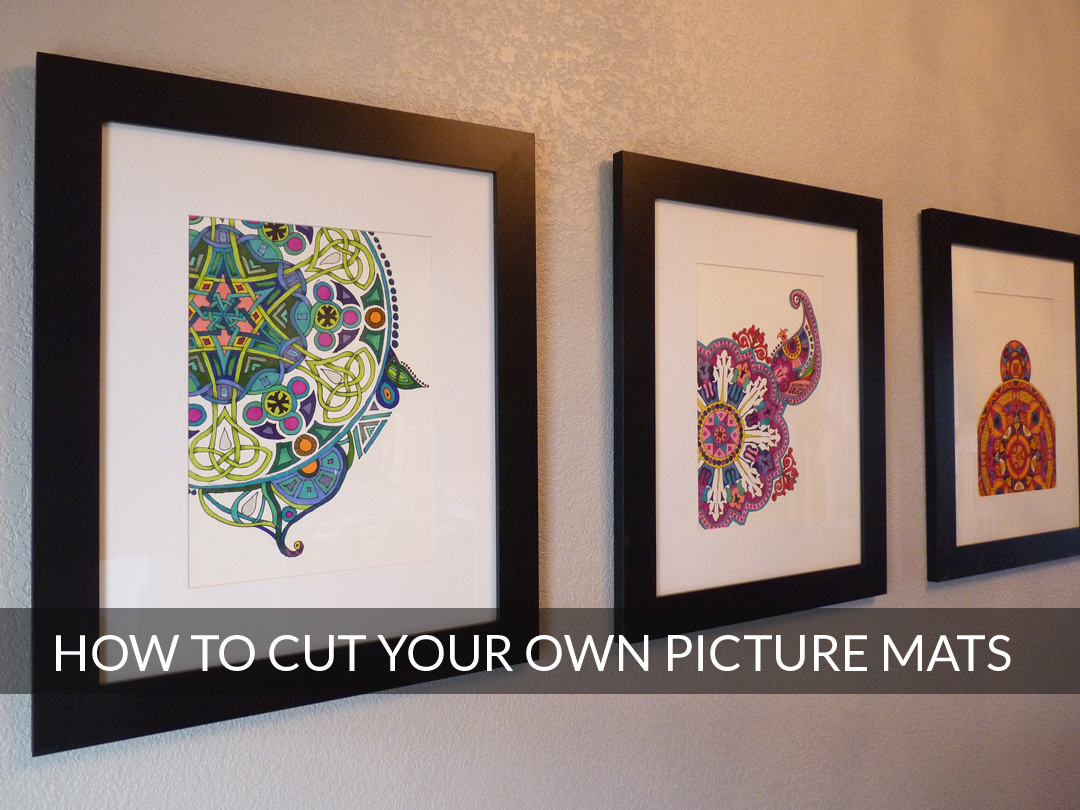 Diy Cut Your Own Picture Mats Cathy Graham