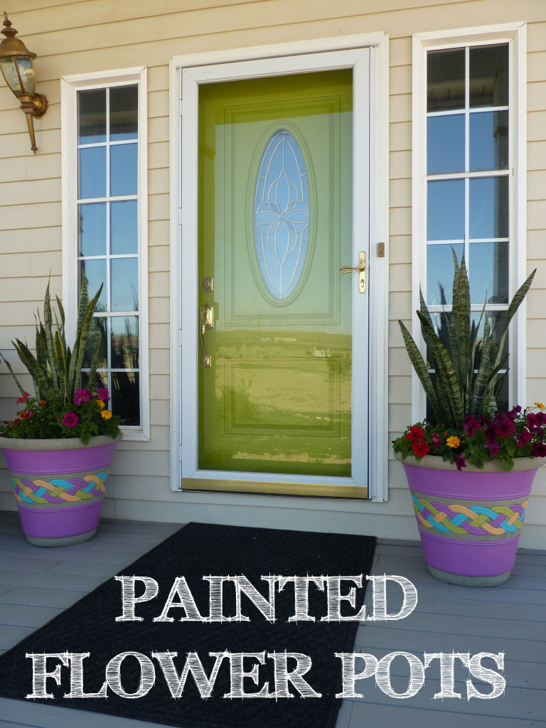 paintedflowerpots